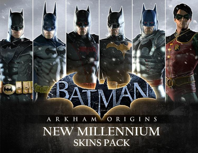 Batman: Arkham Origins - New Millennium Skins Pack (PC) фото