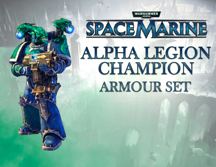 Warhammer 40,000 : Space Marine - Alpha Legion Champion Armour Set DLC (PC) фото