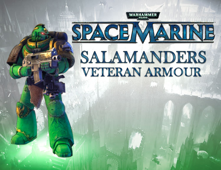 Warhammer 40,000 : Space Marine - Salamanders Veteran Armour Set DLC (PC) фото