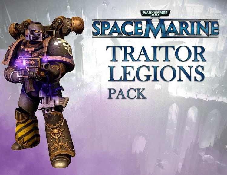 Warhammer 40,000 : Space Marine - Traitor Legions Pack DLC (PC) фото