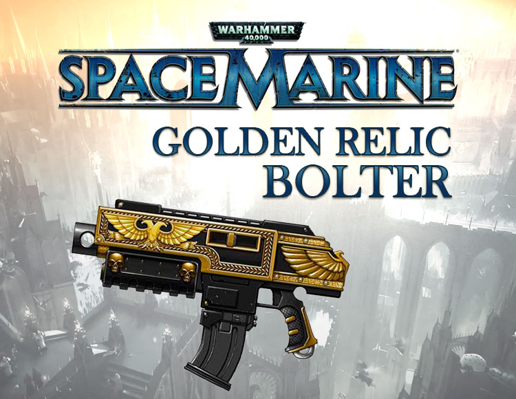 Warhammer 40,000 : Space Marine - Golden Relic Bolter DLC (PC) фото
