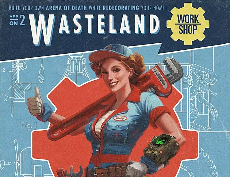 Fallout 4 - Wasteland Workshop DLC (PC) фото