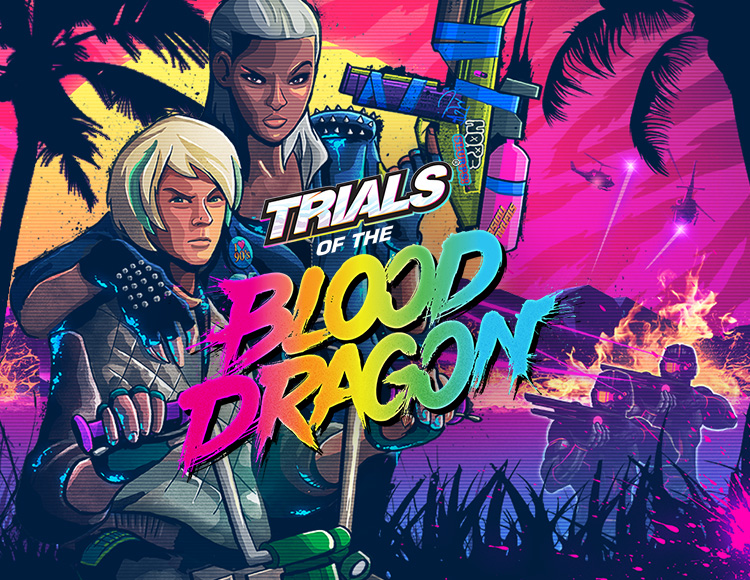 Trials of the Blood Dragon (PC) фото