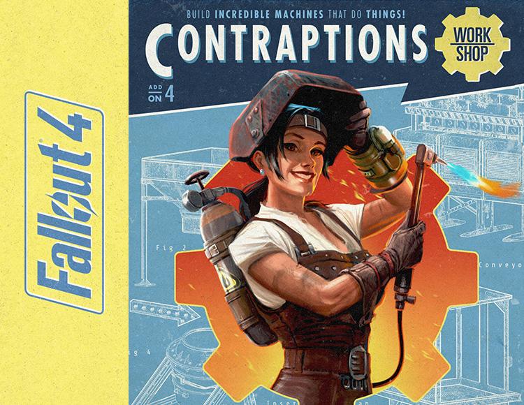 Fallout 4 - Contraptions Workshop DLC (PC) фото