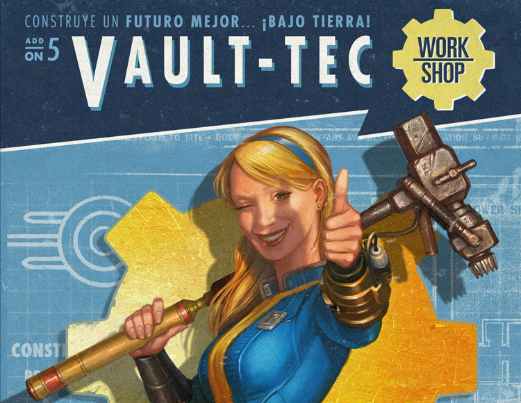 Fallout 4 - Vault-Tec Workshop DLC (PC) фото