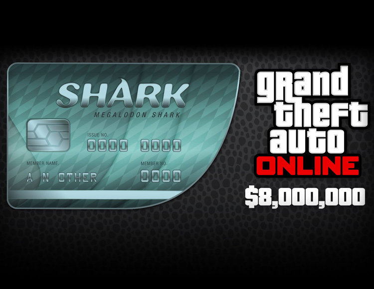 Grand Theft Auto Online : Megalodon Shark Cash Card (PC)