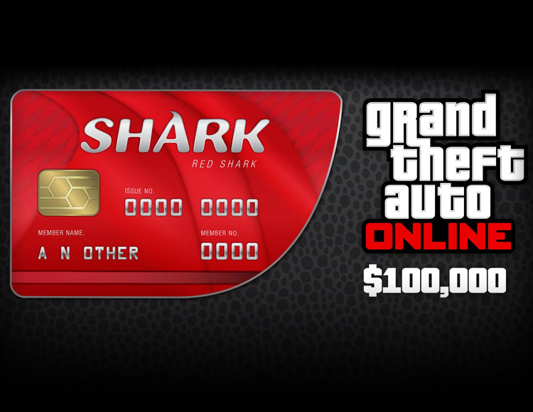 Grand Theft Auto Online : Red Shark Cash Card (PC)