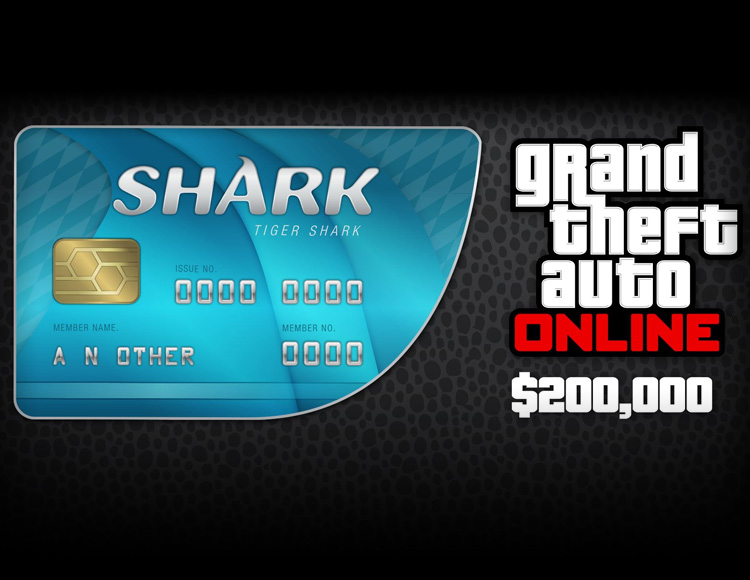 Grand Theft Auto Online : Tiger Shark Cash Card (PC)