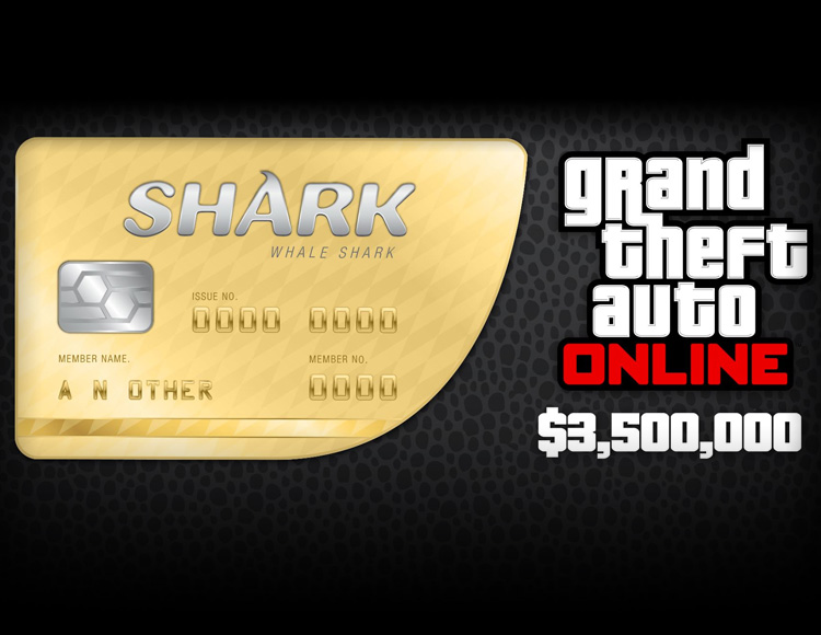 Grand Theft Auto Online : Whale Shark Cash Card (PC)