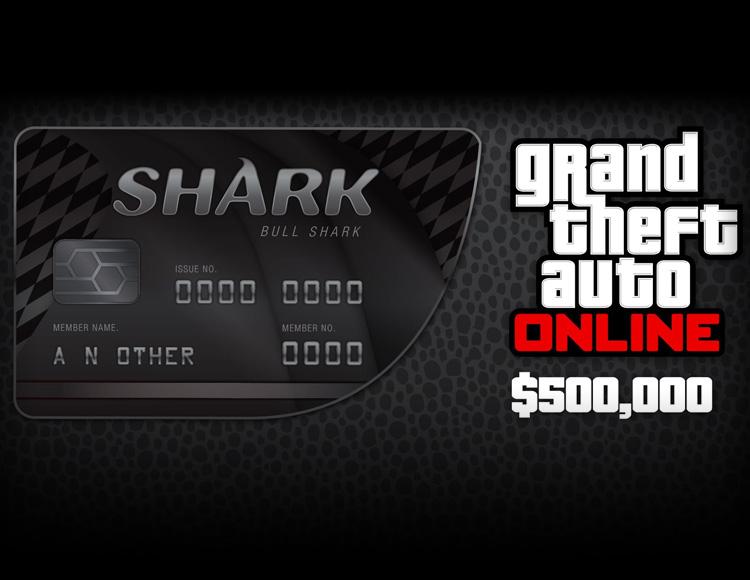 Grand Theft Auto Online : Bull Shark Cash Card