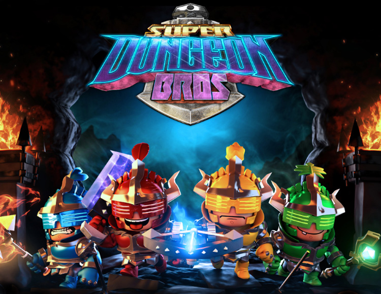 Super Dungeon Bros (PC) фото