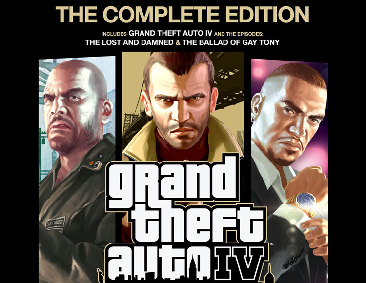 Grand Theft Auto IV : The Complete Edition (PC)