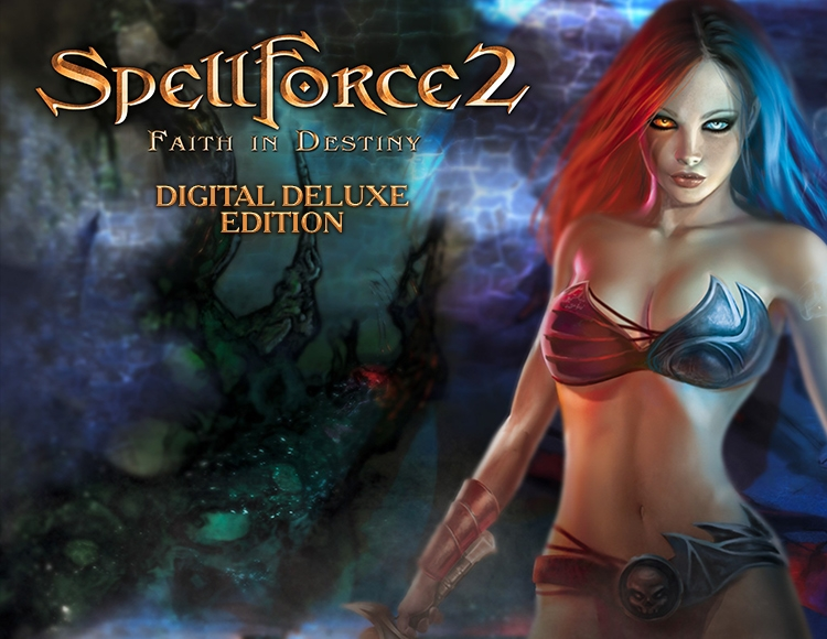SpellForce 2 - Faith in Destiny Digital Deluxe Edition (PC)