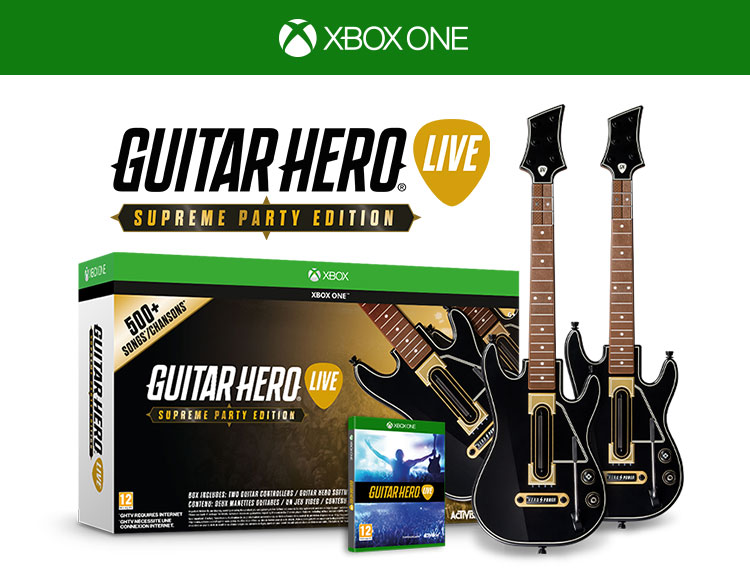 Guitar Hero Live Supreme Party Edition . Гитары. (Xbox One)