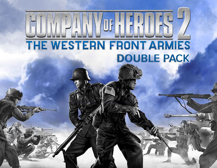 Company of Heroes 2 : The Western Front Armies - Double Pack (PC)