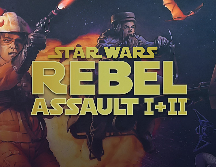 Star Wars : Rebel Assault I + II (PC)