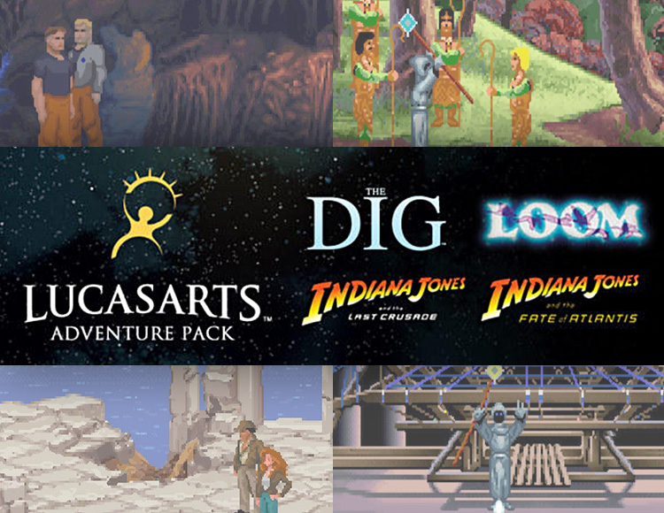LucasArts Adventure Pack (PC) фото