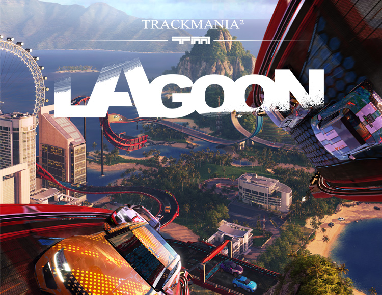 TRACKMANIA² LAGOON (PC) фото