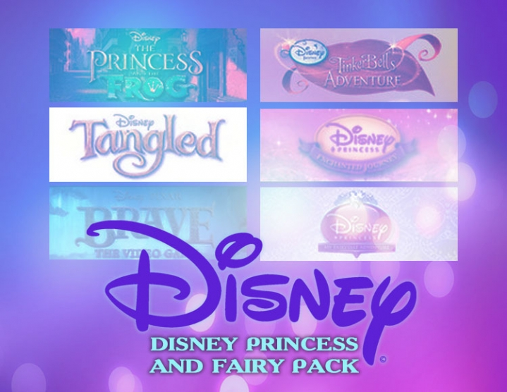 Купить Disney Princess and Fairy Pack (PC)