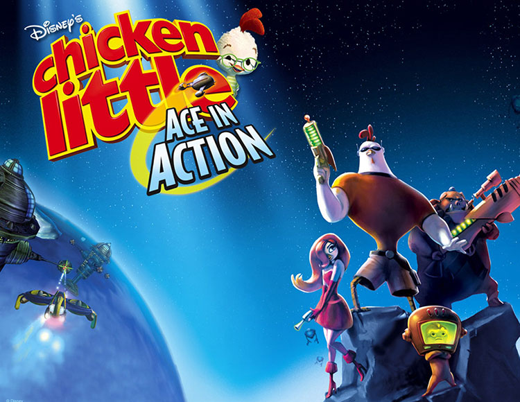 Disney's Chicken Little : Ace in Action (PC) фото