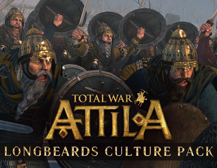 Total War : Attila - Longbeards Culture Pack DLC (PC) фото