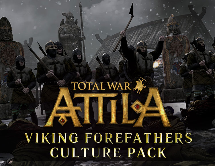 Total War : Attila - Viking Forefathers Culture Pack DLC (PC) фото