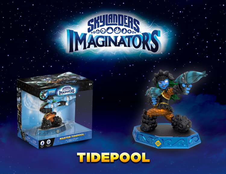 Фигурка Skylanders Imaginators: Сэнсэй - Tidepool (стихия Water)