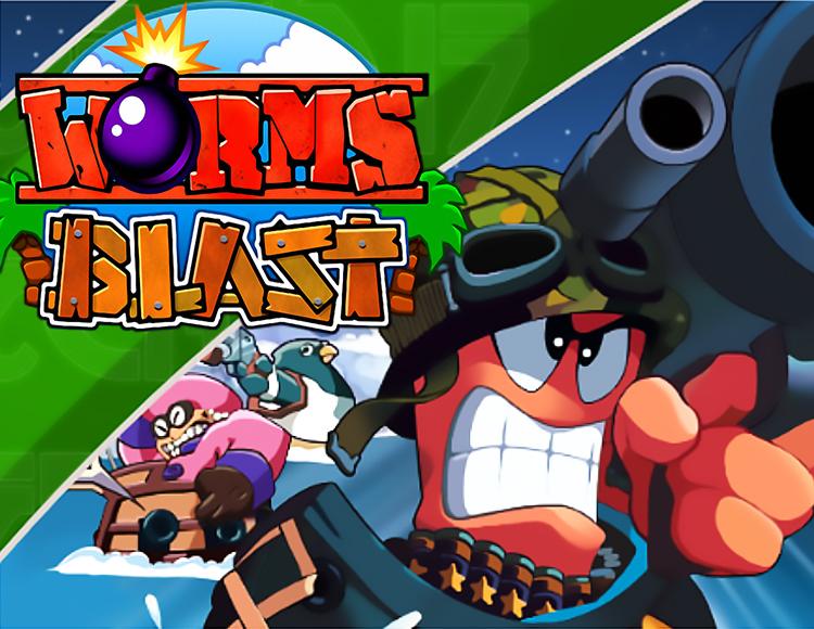 Worms Blast (PC) фото
