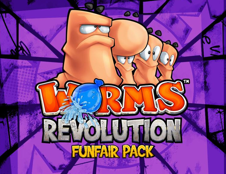 Worms Revolution - Funfair DLC (PC) фото