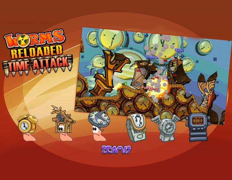 Worms Reloaded - Time Attack Pack (PC) фото