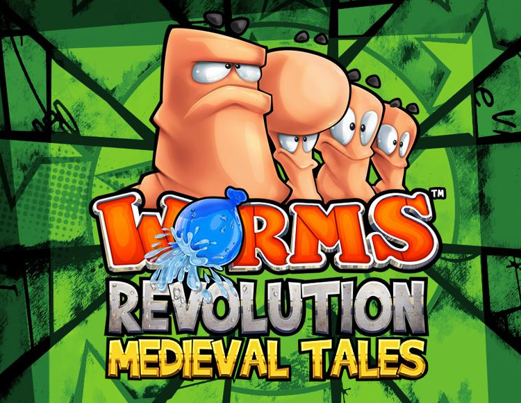 Worms Revolution - Medieval Tales DLC (PC) фото