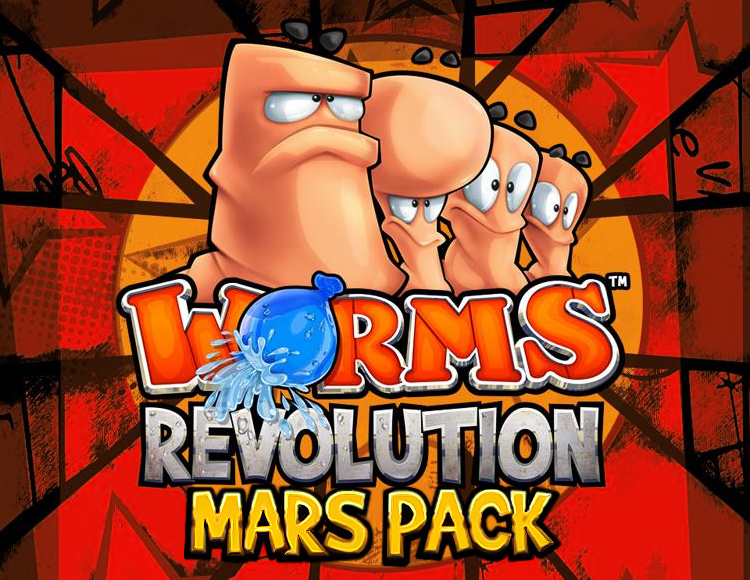 Worms Revolution - Mars Pack (PC) фото