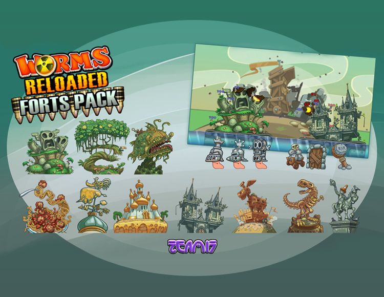 Worms Reloaded - Forts Pack (PC)