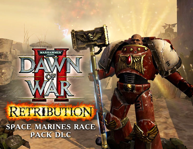 Warhammer 40,000 : Dawn of War II - Retribution - Space Marines Race Pack DLC (PC) фото