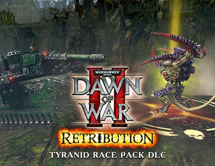 Warhammer 40,000 : Dawn of War II - Retribution - Tyranid Race Pack DLC (PC)
