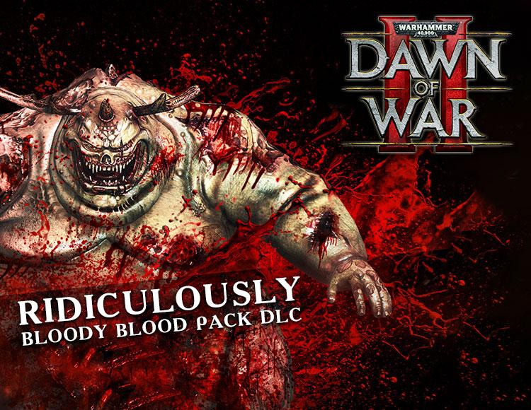 Warhammer 40,000 : Dawn of War II - Ridiculously Bloody Blood Pack DLC (PC) фото