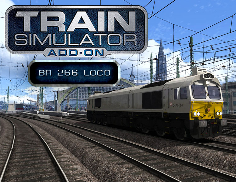 Train Simulator: BR 266 Loco Add-On (PC) фото