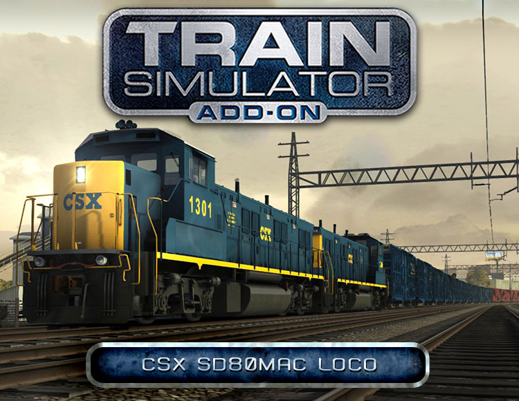Train Simulator: CSX SD80MAC Loco Add-On (PC) фото