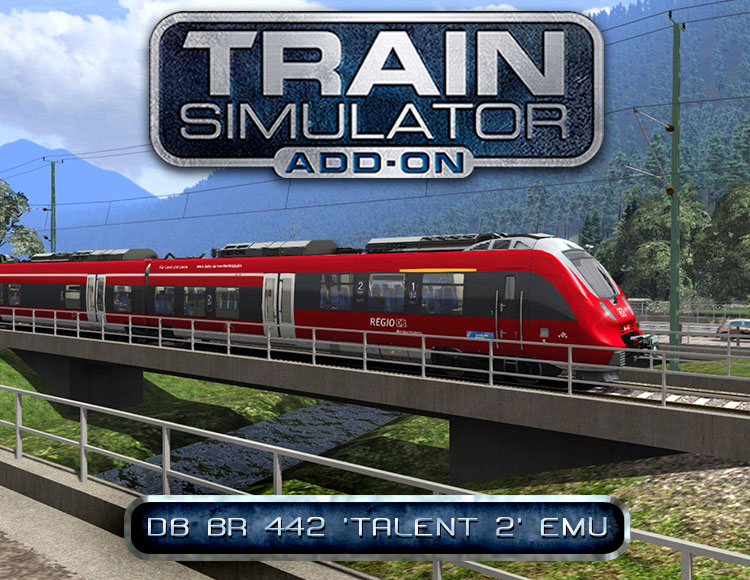 Train Simulator: DB BR 442 'Talent 2' EMU Add-On (PC) фото