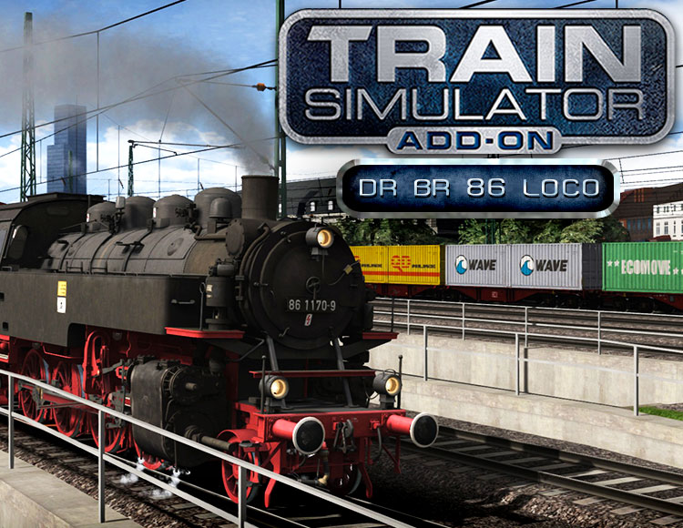 Train Simulator: DR BR 86 Loco Add-On (PC) Dovetail