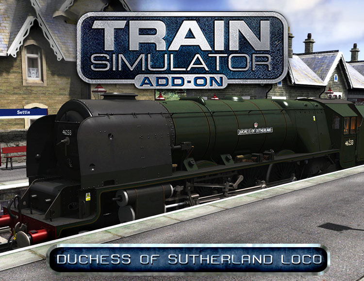 Train Simulator: Duchess of Sutherland Loco Add-On (PC) фото