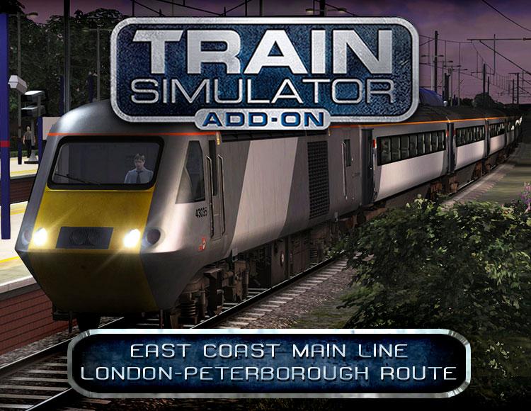Train Simulator: East Coast Main Line London-Peterborough Route Add-On (PC) фото