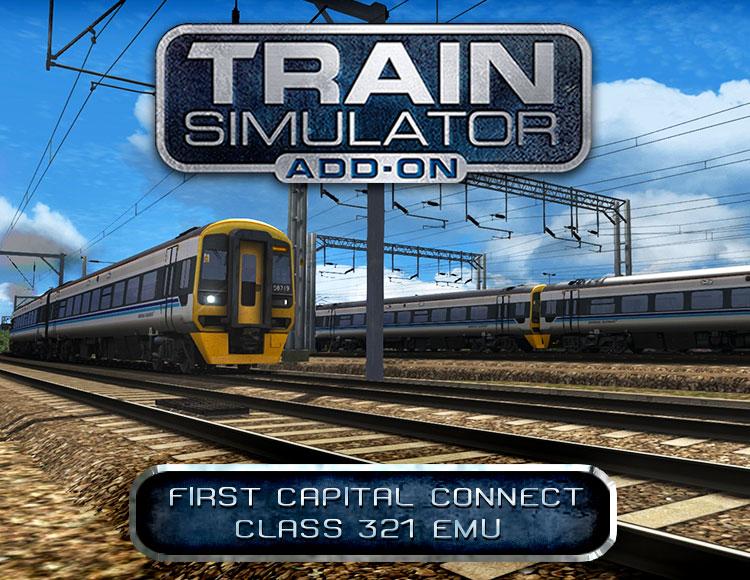 Train Simulator: First Capital Connect Class 321 EMU Add-On (PC) фото