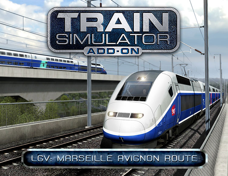 Train Simulator: LGV: Marseille - Avignon Route Add-On (PC) фото