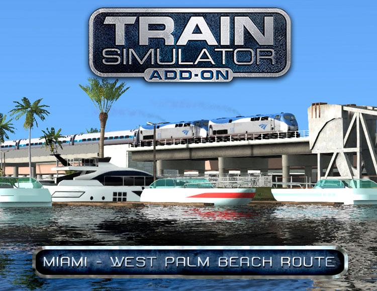 Train Simulator: Miami - West Palm Beach Route Add-On (PC) фото