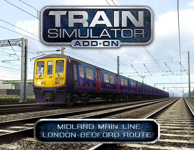 Train Simulator: Midland Main Line London-Bedford Route Add-On (PC)