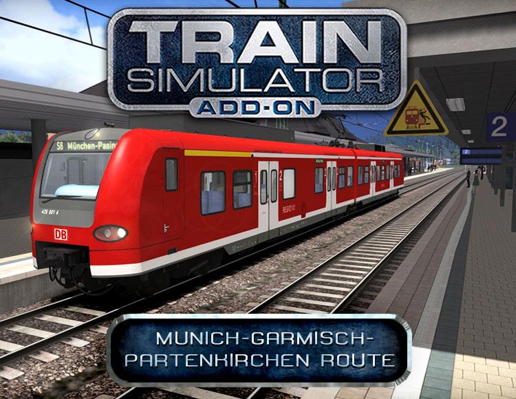 Train Simulator: Munich - Garmisch-Partenkirchen Route Add-On (PC) фото