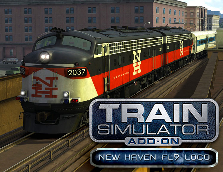 Train Simulator: New Haven FL9 Loco Add-On (PC) фото