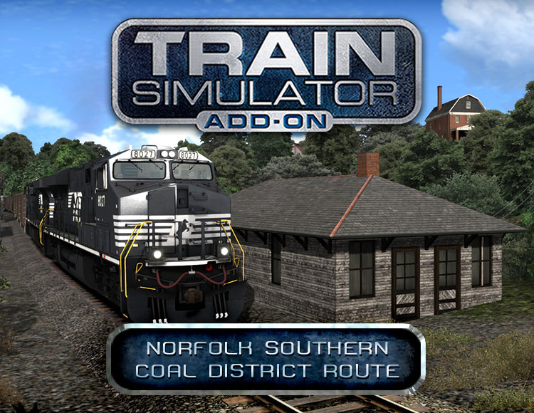 Train Simulator: Norfolk Southern Coal District Route Add-On (PC) фото