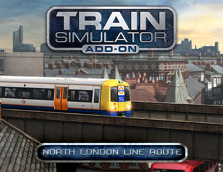 Train Simulator: North London Line Route Add-On (PC) фото